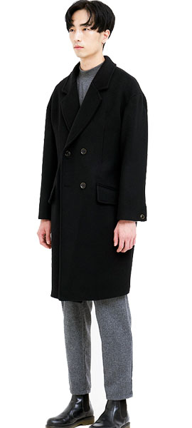 out of stock GAI Drop Double Wool coat
