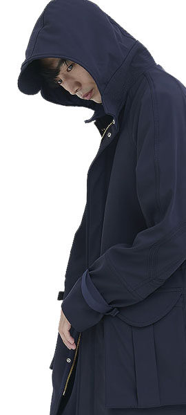 out of stockLIMITED GAI HOODIE COAT